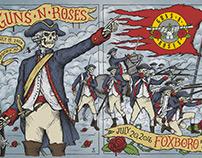 Guns N' Roses - Foxboro Event Poster