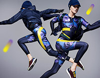 Adidas x Stella mccartney landing page on yoox.com