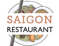 Saigon Redesigned Menu