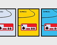 Famicom Controller Prints