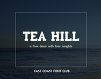 TEA HILL - FREE SERIF FONT