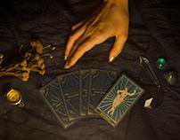 Linda's tarots - Business cards