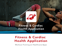 Fitness & Cardiac Health App for iPhone and Android