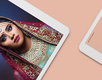 Preeti Faces branding & website
