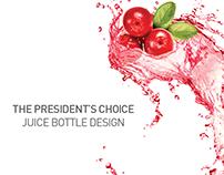 Juice Bottle Branding