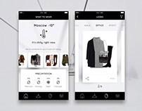 Outfit generator / ios