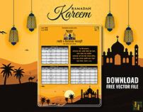 Ramadan Calendar 2021