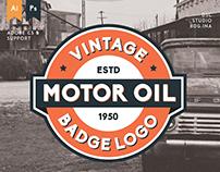 Vintage Retro Badge / Logo & Signage Elements