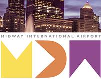 Midway International Airport Brand Board