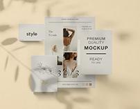 Free Branding & Stationery Mockup