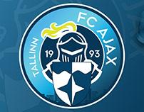 """New style for Football club """"Ajax Tallinn"""" v2"""