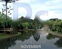 Photography Daily Creative Challenge - November