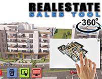 3D 360 Virtual Interactive Web Application
