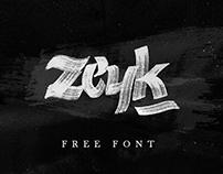 Zeyk / Handmade Free FONT