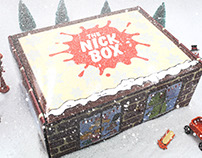 Nick Box Snowed In Marketing Campaign