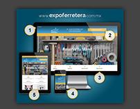 Promoción nuevo sitio Expo Ferretera