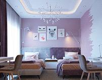 B.O. Girls Bedroom