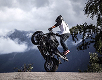 Stunt rider profile (part)