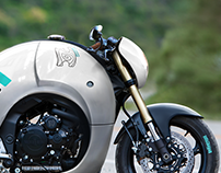 Misija inspired motorcycle