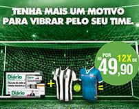 Diário do Nordeste | Anúncio Jornal + Camisas