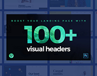 Visual Website Headers