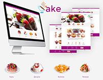 "Delicious online catalog ""CAKE"""