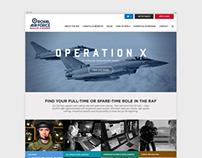 Royal Air Force — Website rebrand, 2014