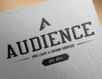 Logo for Audience Prolightsound