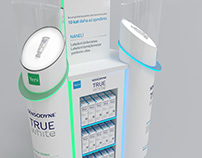 Sensodyne True White Full Range Display Designs