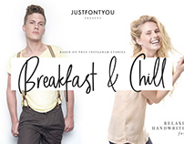 Breakfast and Chill - Casual Handwriting Font