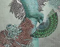 Floral dream Fashion Illustration