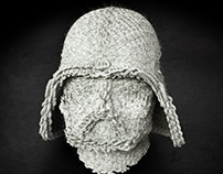 3D Knitted Star Wars