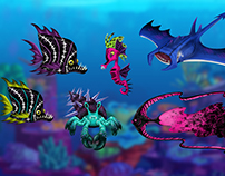 The Great Scarrier Reef - Sea Creatures