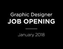 Graphic Designer Job Opening