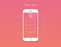 Take Me - App Design