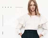 Zara - webdesign concept.