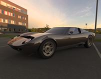Lamborghini Miura Rhinoceros 3D model