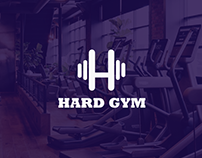Hard Gym Logo