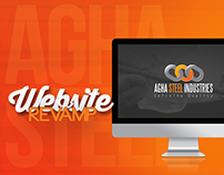 Agha Steel Industries | Website Revamp