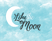 Like the Moon (Logo and Blogspot Theme)