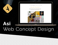 Asi Web agency page Concept