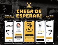 Achei o Barbeiro! | UI Design