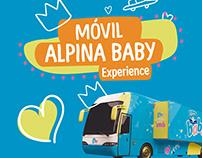 Móvil Alpina Baby - Branding
