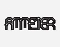 Ammeter Typeface