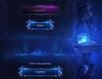 Isengard - Metin2 Webdesign (RPG)