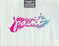 THIRTY LOGOS - DAY 9 - PAINT