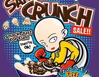 Saitama Crunch Tshirt