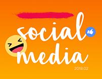 Social Media - 2018 . 02