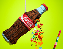 Coke Piñata for Coca Cola