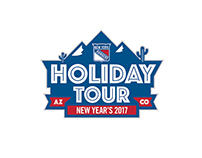 NY Rangers Holiday Tour Logo